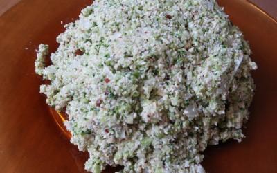 Чудесен суров веган пастет от броколи и ядки