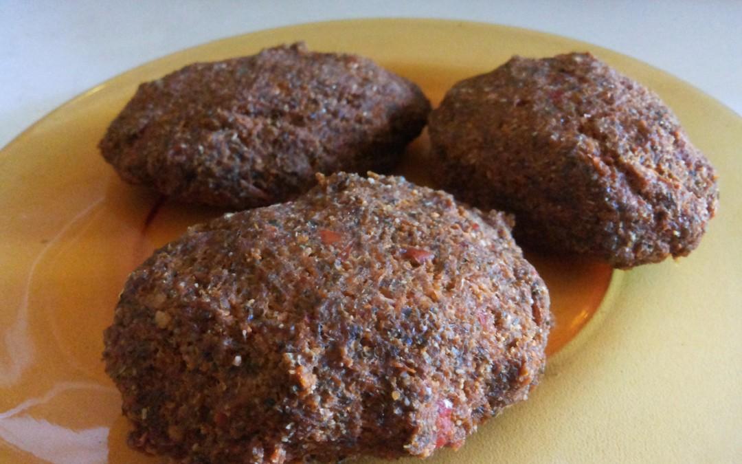 Сурови веган кюфтета с моркови и семена